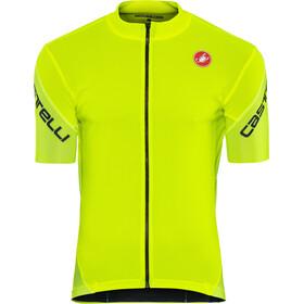 Castelli Entrata 3 FZ Jersey Men yellow fluo